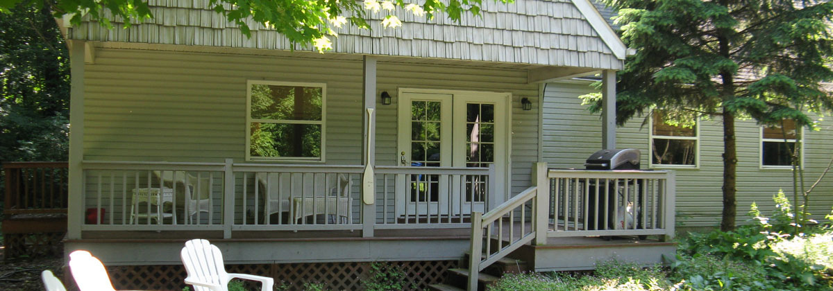The Put-in-Bay House Porch